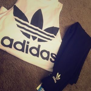 2 piece adidas outfit one price